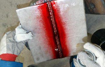 penetrační zkoušky whalespray, chemie pro svařování, nedestruktivní zkoušky, artweld
